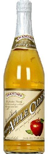Knudsen Crisp Apple Sparkling Cider, 750 Millilitre - 12 per case.