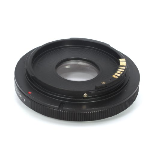 Pixco Optical AF Confirm Focusing Infinity Adapter Canon FD Lens to Canon EOS - F64 Lens