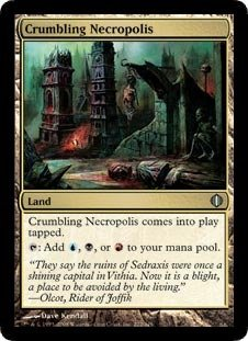 Magic: the Gathering - Crumbling Necropolis - Shards of - Alara Mint