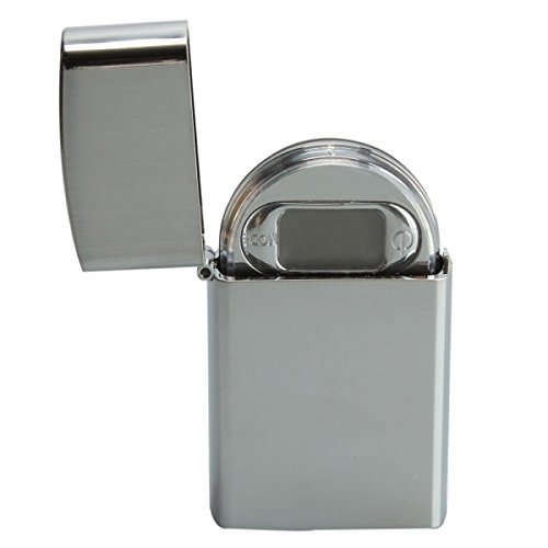200g x 0.01g Lighter Style Portable Digital Pocket Jewelry Scale 9015 Silver / Max Weight : 200g