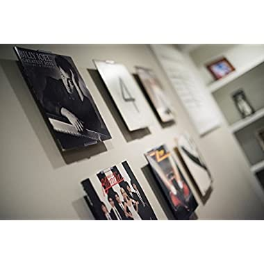AlbumMount - NEW Wall Mount or Shelf Stand to Display Your Vinyl Records, Album Covers, or Records