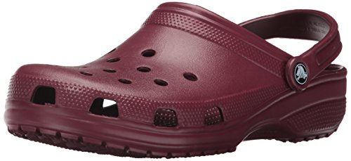 Skull Dots Sock - crocs Women's Classic Mule  Garnet - 9 B(M) US Women / 7 D(M) US Men