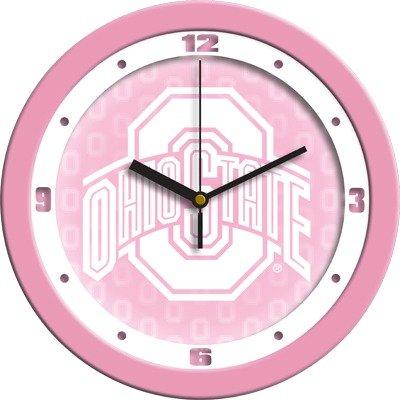 SunTime NCAA Ohio State Buckeyes Wall Clock - Pink
