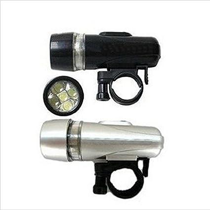 2014 Bike 5 LED Power Beam Front Head Light Headlight Torch Lamp Light BlacWTUS