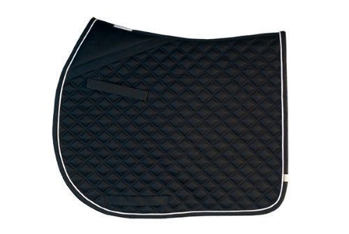 Black Lettia Coolmax ProSeries Dressage Pad