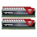 Viper Elite Series DDR4 8GB (2 x 4GB) 2400MHz Kit (Red) PVE48G240C5KRD