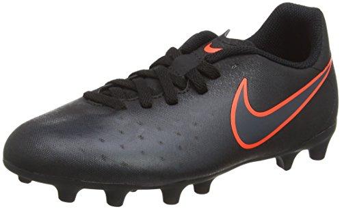 Nike Magista Ola Ii Fg, Botas de Fútbol Unisex Niños Negro (Black / Black)