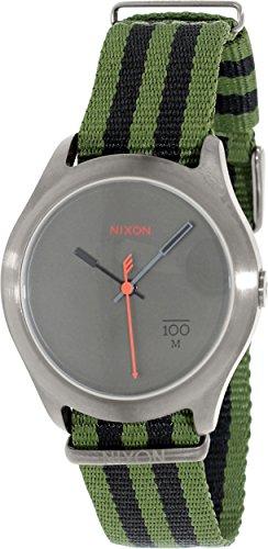 Nixon Quad Watch - Men's Surplus/Black Nylon, One Size