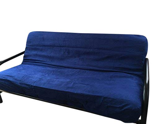 OctoRose  Full Size Zipper Bonded Classic Soft Micro Suede Futon Cover (RoyalBlue)
