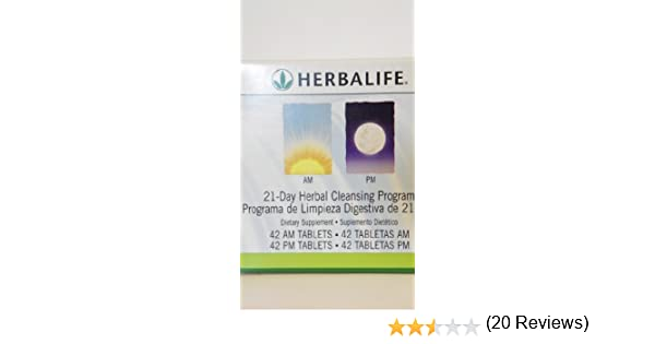 Amazon.com: Herbalife 21 Day Herbal Cleansing program, AM/PM ...