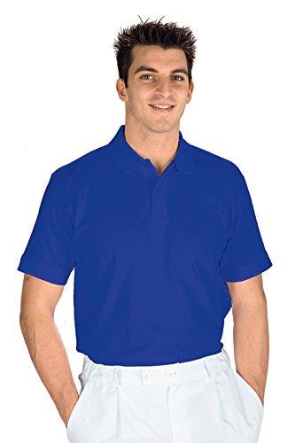 Meister–Polo Short Sleeve BLAU Cyan