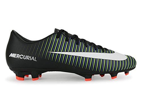 Nike Mercurial Victory VI FG Herren Fußballschuhe BLACK/WHITE-ELECTRIC GREEN