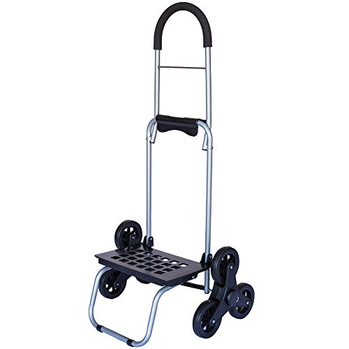 Mighty Max Dolly Stair Climber Rotating Tri-wheel Steppers For Easy Climbing