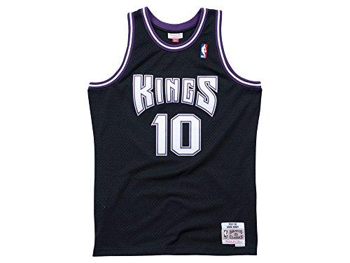Mitchell & Ness Mike Bibby Sacramento Kings Throwback Swingman Jersey (Large)