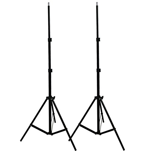 A Pair of 2M 7ft Light Lamp Umbrella Stand Tripod Lighting Kit for HTC Vive VR Youtube Videos Shooting Photographic Softbox Studio
