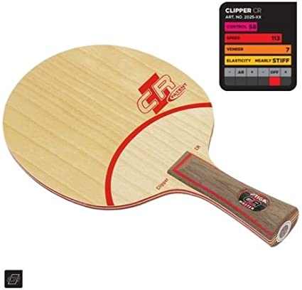 Stiga Clipper Wood WRB Blade Table Tennis Ping Pong