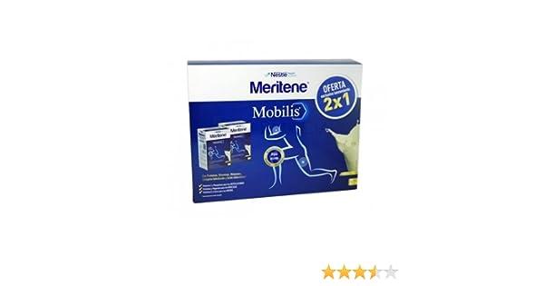 Meritene Mobilis 2 x 10 sobres, sabor vainilla.: Amazon.es: Salud y cuidado personal