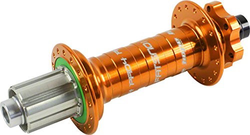Hope Fatsno Pro 4 Rear Hub 32H 197mm x 12mm Orange by Hope
