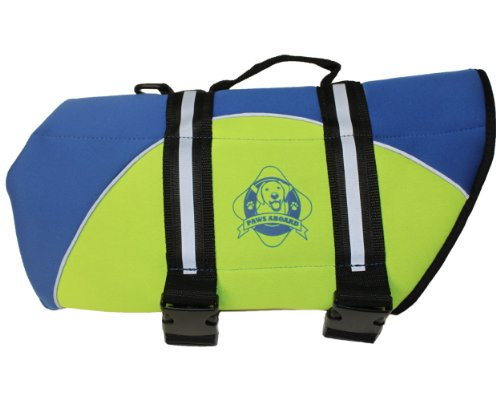 Paws Aboard BY1500 Neoprene Doggy Life Jacket, Large, My Pet Supplies