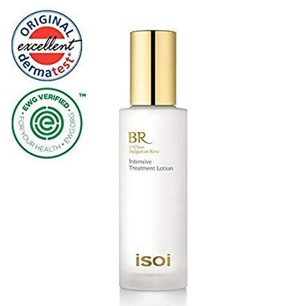 isoi Bulgarian Rose Intensive Treatment (Energizing) Lotion 50ml – Natural Moisturizer for Dry & Sensitive skin, Anti-aging, Brightening, Top Scoring EWG Verified, Natural Moisturizer For Sale