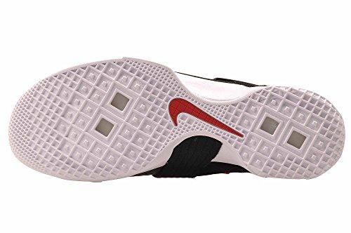 Nike Lebron Soldier Xi Heren Basketbal Schoenen Zwart / Wit-universiteit Rood