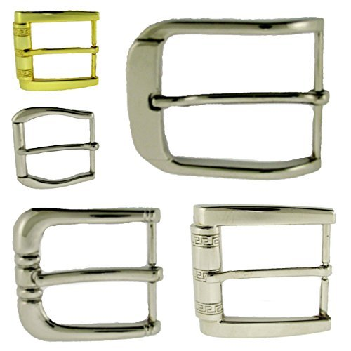 50 Pieces Single Prong Belt Buckle Wholesale Lot Men Women Silver Gold Closeout from Generic