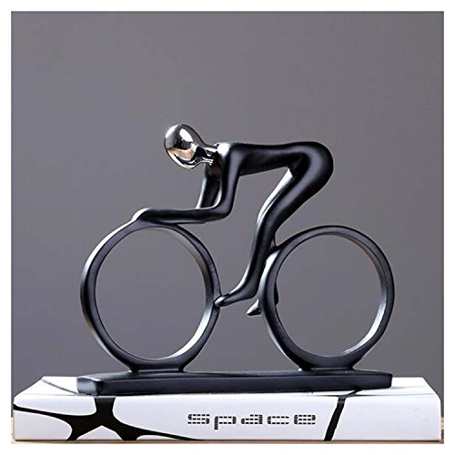 DU&HL Abstract Decoration Decoration Creative Simple Rider Decoration Modern Home Office Living Room TV Cabinet Crafts, Cyclist Rider by DU&HL (Image #3)