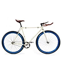 Zycle Fix ZF-PE-52 PEARL Fixed Gear Bike, 52cm/One Size Frame