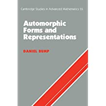 Automorphic Forms and Representations (Cambridge Studies in Advanced Mathematics Book 55)
