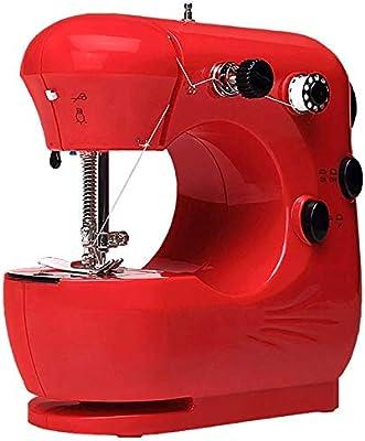 CGOLDENWALL Mini Máquina de Coser Portátil 20 x 20 x 10 cm - para ...