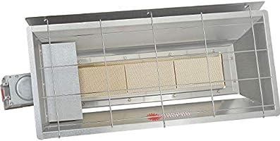 Natural gas garage heater