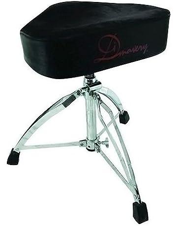 Dimavery DT-120 taburete de tambor omniesfera sillín form