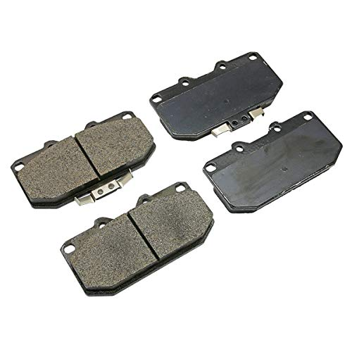 Front 4 Pot Disc Brake Pad For Nissan Silvia S14 S15 Skyline R32 R33 R34 300ZX (Pot Brake 4 Front)