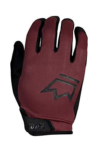 (Royal Racing Quantum Glove Plum RED/Black M)