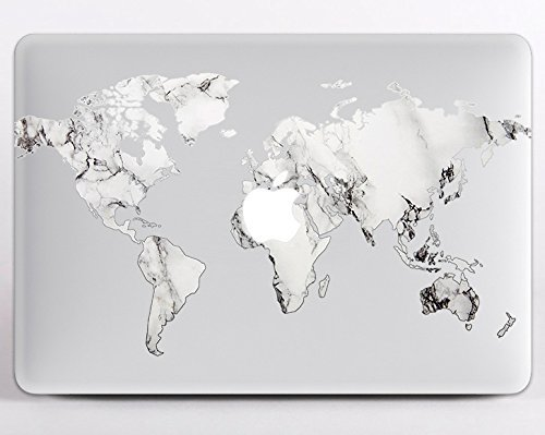 Amazon modo design removable vinyl decal marble map macbook modo design removable vinyl decal marble map macbook decal macbook vinyl macbook air and pro 116 gumiabroncs Gallery