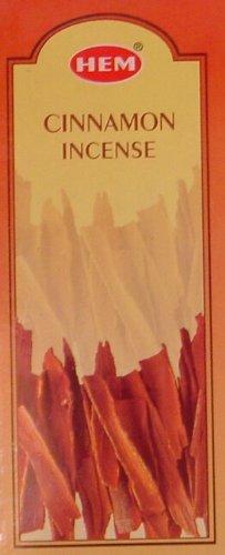Cinnamon - Box of Six 20 Gram Tubes - HEM Incense