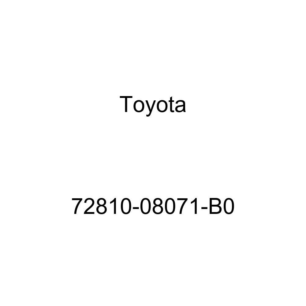 Toyota 72810-08071-B0 Seat Armrest Assembly
