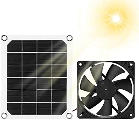 Ventilador de Escape Del Panel Solar, Ventilador de Escape Solar ...