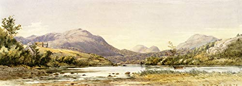 Canvas Mount Collection (Samuel P. R. Triscott Looking Up Long Pond, Mount Desert 1879 Private Collection 30