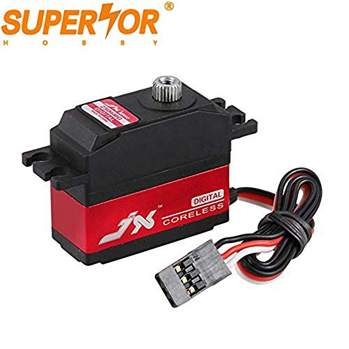 JX PDI-2506MG 6.6KG servo 25g Metal Gear digital Coreless motor for 1/16 scale steering WLtoys 12428 RC car 450 500 Helicopter Fixed wing Tower Hobbies Slow Ride 3D airplane - Metal Gear Coreless Motor