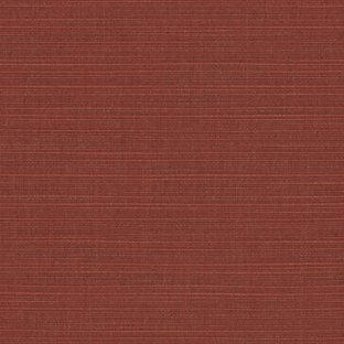 Sunbrella Indoor / Outdoor Upholstery Fabric By the Yard ~ Dupione Henna ~ Dark Red / Burgundy Dupione Henna