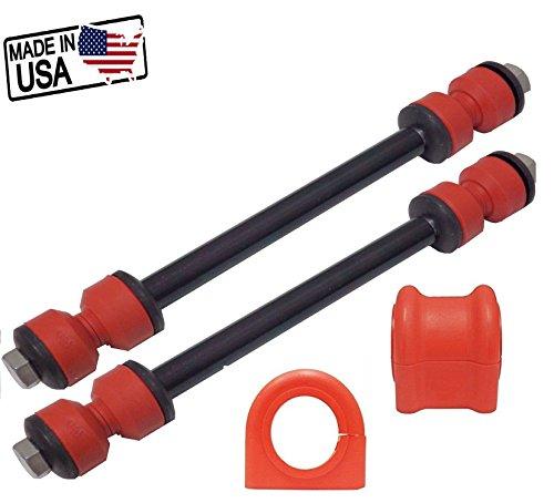 4PC Suspension Stabilizer LINKS & Bar Bushing Kit Front K7275 - Ranger Bar Sway