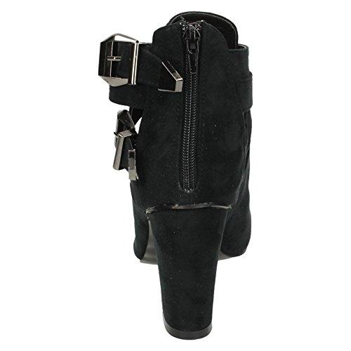 Ankle Black Boots Ladies On Spot wzqP6