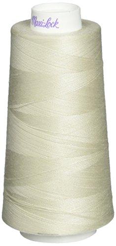 American & Efird Maxi-Lock Cone Thread 3,000yd, Pearl