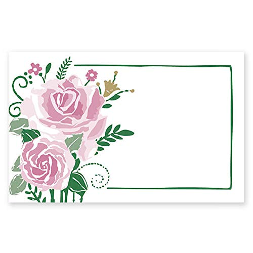 Farmhouse Flowers Enclosure Cards/Gift Tags - 3 1/2 x 2 1/4in. (50)