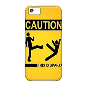 High-quality Durable Protection Case For Iphone 5c(this Is Sparta)