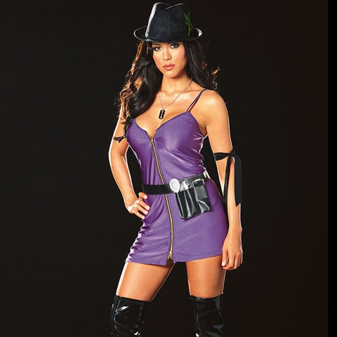 Diva  (Cops And Robbers Halloween Costumes For Girls)