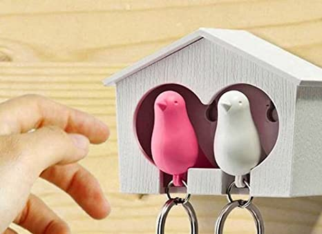 Cartal Qualy - Sparrow y BIRDHOUSES Llavero Duo: Amazon.es ...