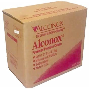 Image of Alconox 1125 Powdered Precision Cleaner, 25lbs Box Health and Household