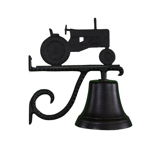 Montague Metal Products Cast Bell with Black Tractor